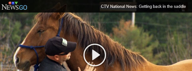 Watch the Video Clip from CTV News on Hope Reins Therapy!
